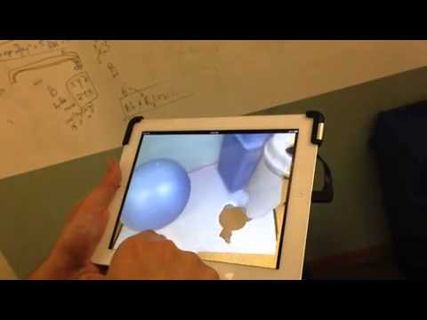 Fetch! Demo Video with Structure Sensor