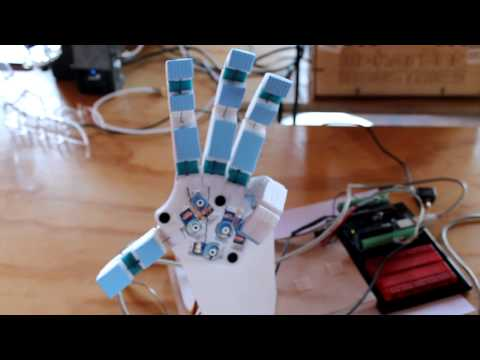 Reuters and the Mind Control Robot Hand