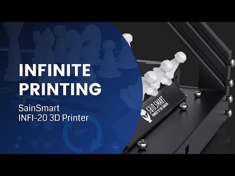SainSmart INFI-20 Belt 3D Printer | Infinity printing