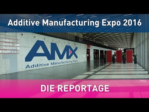 GBN Systems Videonews - Reportage der AMX Additive Manufacturing Expo Messe Luzern 2016