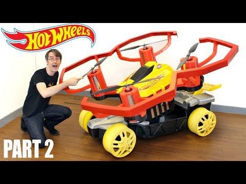Hotwheels GIANT Drone Racerz Car #2, for Bladez Toyz | James Bruton