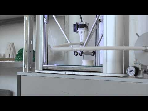 3D Printing clay with delta printer - Clay Extruder for Delta WASP