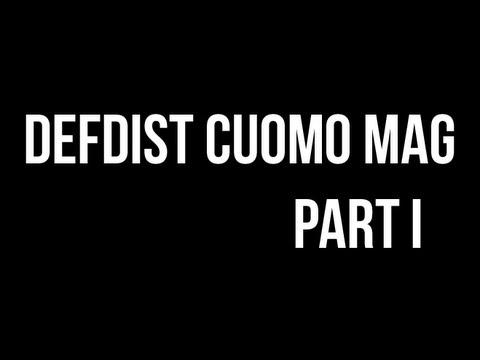 DefDist Printed Cuomo Mag - Part I