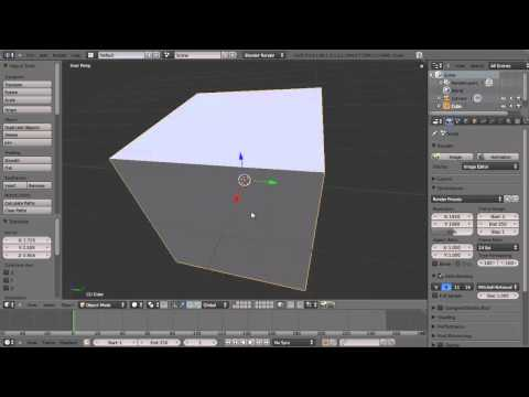 Introduction to Blender Tutorial- Part 1