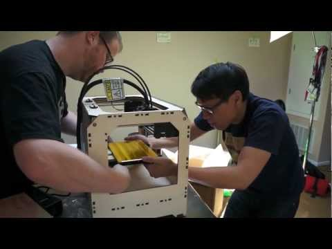 Not Exactly a Mailbag: The Makerbot Replicator Arrives