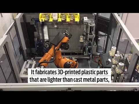 Ford Pilots Stratasys Infinite Build 3D Printer