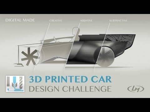 Local Motors 3D Printed Car Design Challenge Video