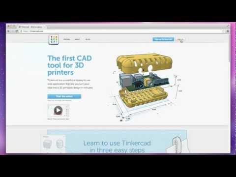 Tinkercad Tutorial Video