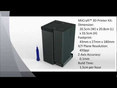 MiiCraft 3D Printer Kit