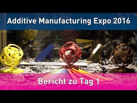 GBN Systems Videonews - Bericht zum 1. Messetag der Additive Manufacturing Expo in Luzern