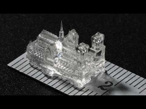 Printing tiny, high-precision objects in a matter of seconds