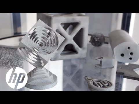 HP MJF Technology Reduce Lead Time for CNC Würfel 3D Printed Gripper Finger   HP
