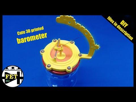 3d printed project - DIY barometer