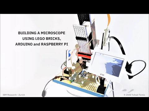IBM open sources $300 fully-functional LEGO® microscope design