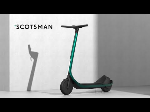 Scotsman - World's first custom 3D printed carbon fiber electric scooter
