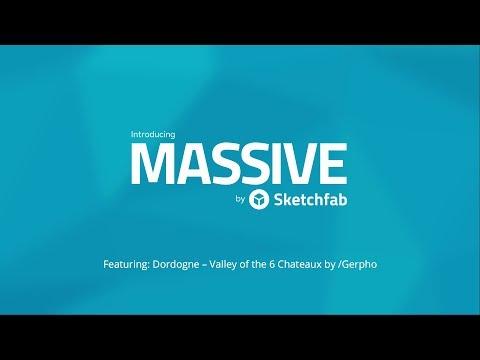 Introducing Massive by Sketchfab (Alpha)