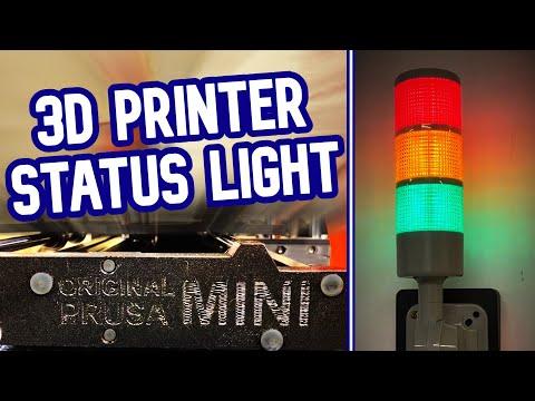 Adding Indicator Lights to my 3D Printer [Prusa]