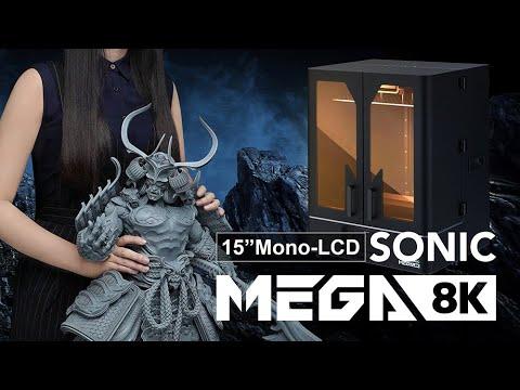 Sonic Mega 8K - The ONE & ONLY 8K 3D Printer - Pre-order now