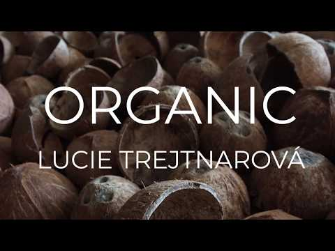 Organic - 3D printed sole & Malai biomaterial on shoes by Lucie Trejtnarova