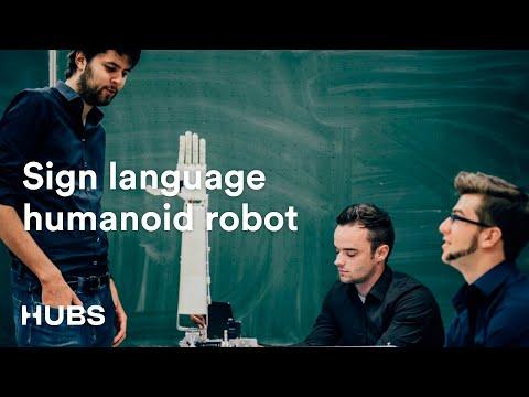 Hubs x Aslan Project - Sign Language Humanoid Robot