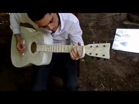 3D printed acoustic Guitar