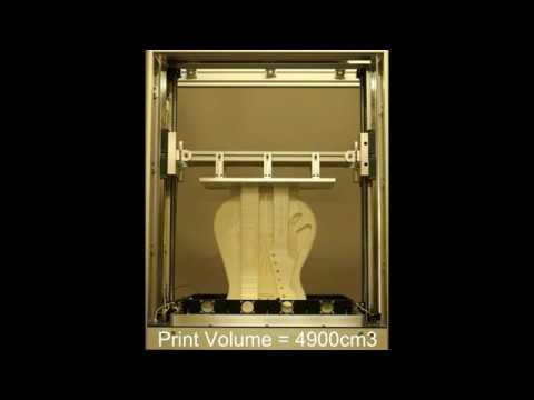 Wave3D SLA Fender guitar demo print