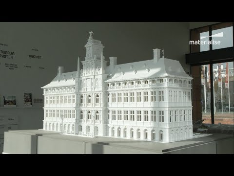 3D Printing Antwerp's 450-Year-Old City Hall