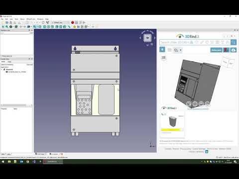 FreeCAD - Plugin for 3D CAD models - powered by CADENAS
