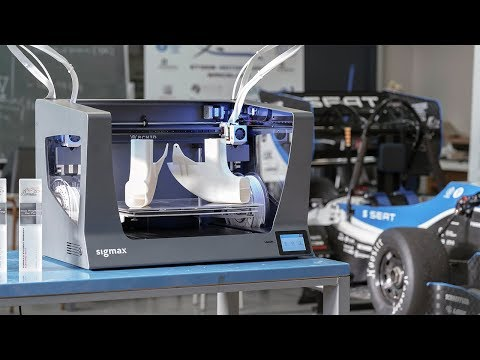 Formula Student: 3D printing for manufacturing end-use parts I BCN3D Sigmax
