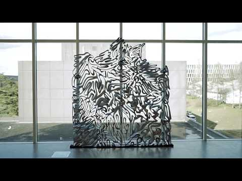 ETH Zurich casts intricate metal facade in a 3D-printed mould