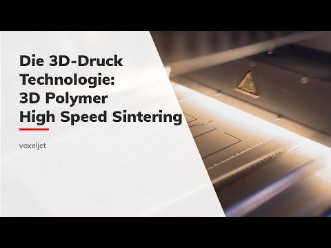 voxeljet High Speed Sintering (HSS) Prozess