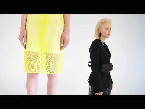 Meet The First Zero-Waste Fully Customizable 3D-Printed Skirt - Future of Fashion is Sustainable