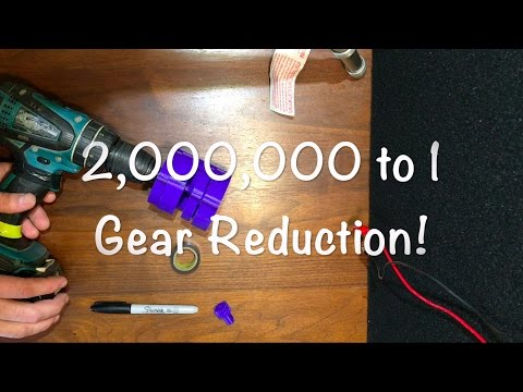 1379:1 3D Printed Gearbox