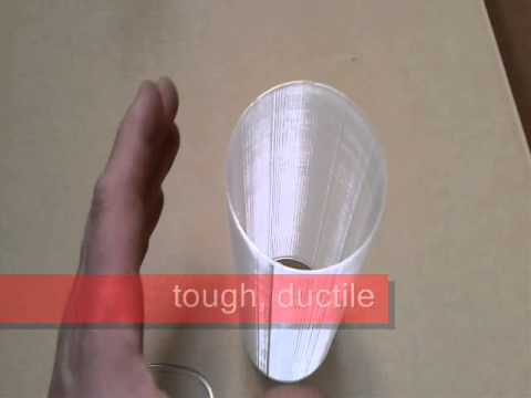 BENDLAY 3D-filament clear & bendable