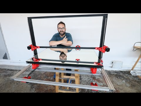 GIANT DIY 3D PRINTER FROM SCRATCH