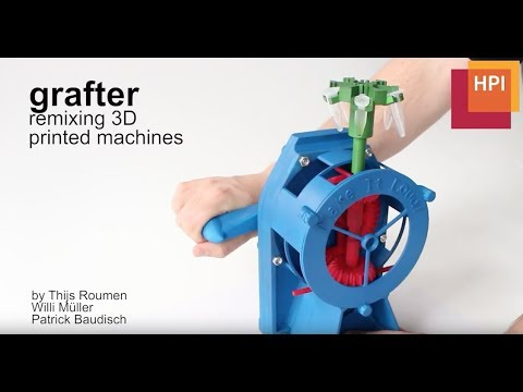 grafter: remixing 3D printed machines