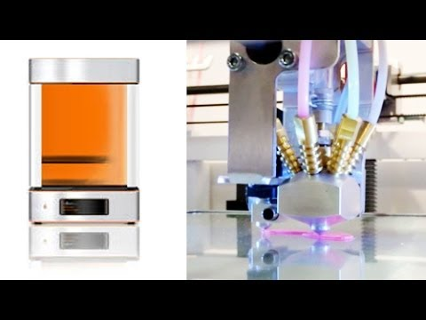 "iGo3D - botObjects ""ProDesk3D"" 3D Printer in action - by igo3d.com"