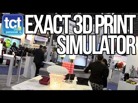 Exactly simulate your 3D print before printing with Sculpteo's FinalProof CAD Viewer at CES