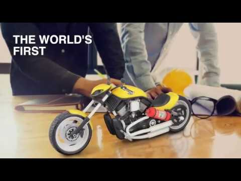 The Mimaki 3D printer: 3DUJ-553