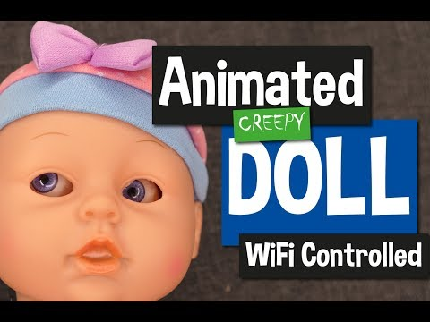 Creepy Animated Doll