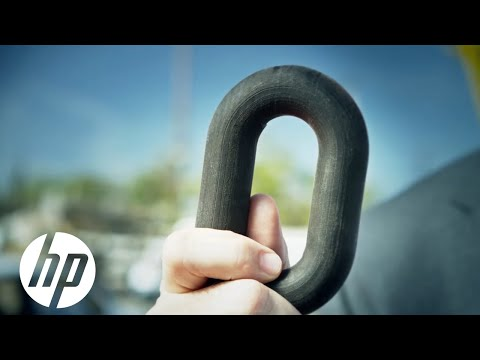 3D Printed Chain Lifts Car | HP Multi Jet Fusion™ Technology | HP