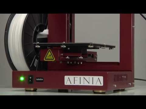 Afinia3D H480 Setup Overview