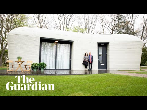 Europe's first fully 3D-printed house gets its first tenants