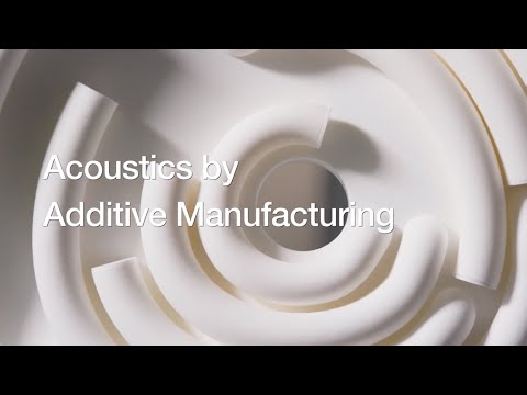 ADAM – Acoustics by parametric Design and Additive Manufacturing