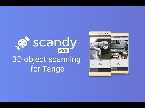 Scandy Pro 3D scanning—Now on Google Play