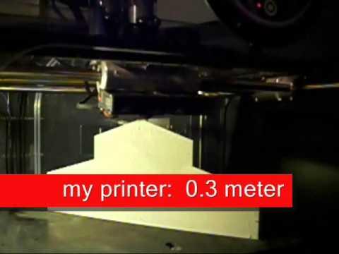 LAYBRICK - new filament for reprap 3D printer / near warp free /
