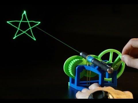 Mechanical Laser Show
