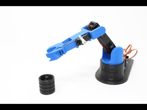 LittleArm V3 - 3D Printed DIY Arduino Robot Arm You Can Build for STEM And Hobby