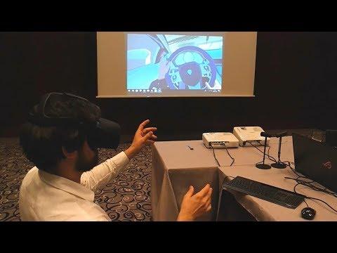 Echtzeit-Fahrzeug-Fernsteuerung via 4G und VR-Brille von EXCIT3D