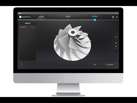 Fully Automatic Impeller Inspection within 10 mins - SHINING 3D Metrology Solution
